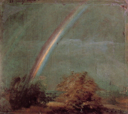Rainbow. Landscape