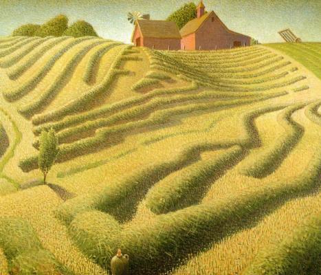 Grant Wood. Hay