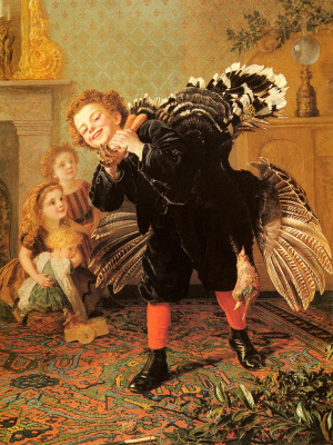 Sophie Jeanjambre Anderson. Christmas:That's a Turkey!