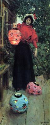 Konstantin Korovin. Paper lanterns