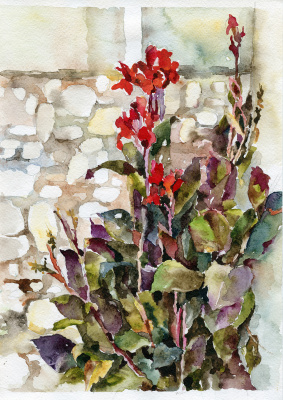 Tatyana Nikolaevna Evseeva. Wild gladiolus