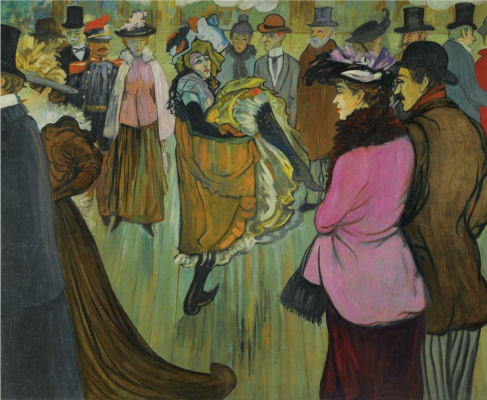 Луи Анкетен. Moulin Rouge  1893