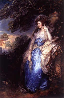 Thomas Gainsborough. Mary, Lady Bate Dudley