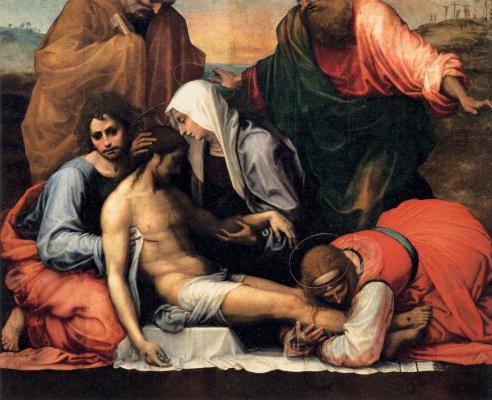 Фра Бартоломео. Lamenting christ