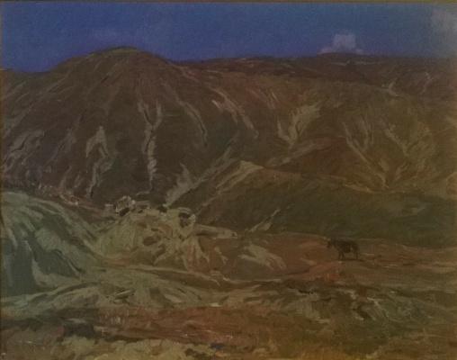 Petr Kuzmich Stolyarenko. Koktebel Hills