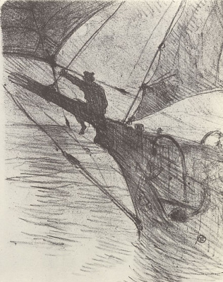 Henri de Toulouse-Lautrec. Oceano Nox