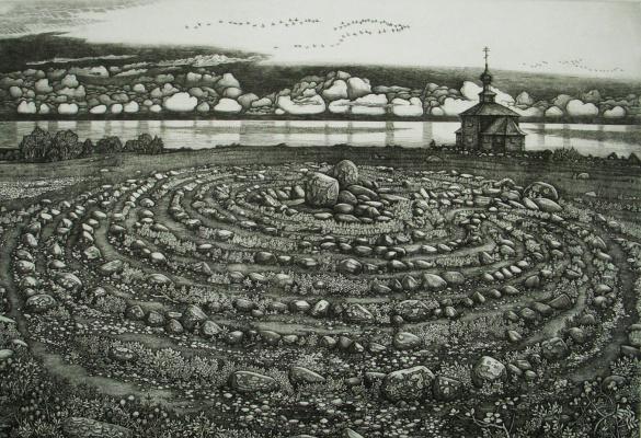 Anatoly Ivanovich Yaroslavtsev. Maze