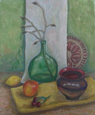 Zina Vladimirovna Parisva. Still life No. 5
