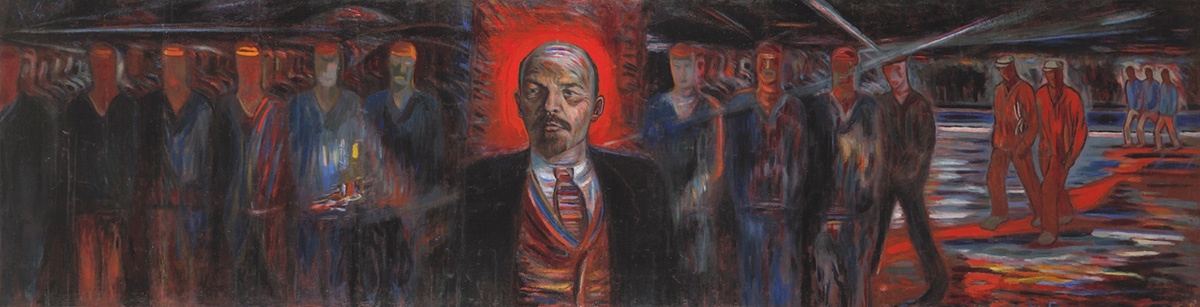 Boris Alexandrovich Golopolosov. Lenin - the leader of the proletariat