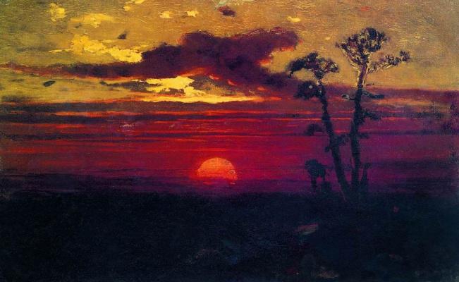 Arkhip Ivanovich Kuindzhi. Sunset