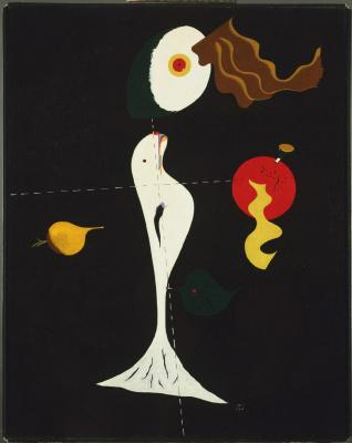 Joan Miro. Nude woman