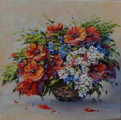 Irina Nikolaevna Borisova. Poppies