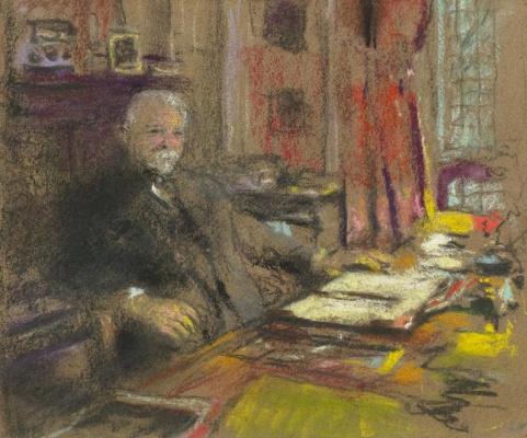 Jean Edouard Vuillard. Portrait D'andré Ben