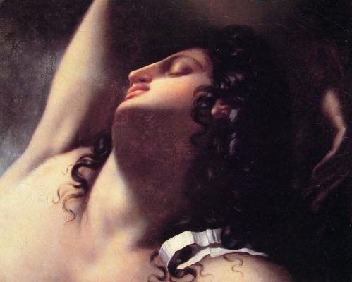 Энн-Луи Жироде де Русси-Триосон. Эскиз для спящего Эндимиона