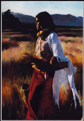 Том Дарро. Сбор пшеницы