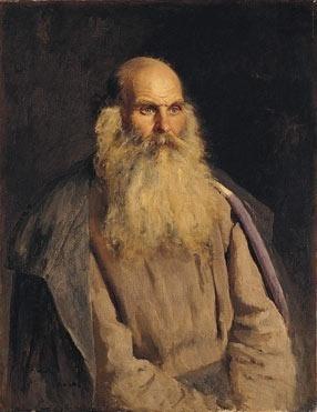 Ilya Efimovich Repin. The old man