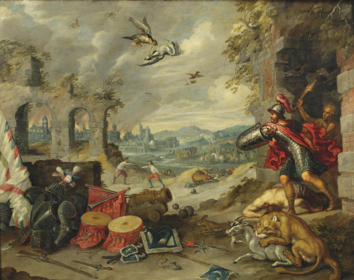 Jan Brueghel the Younger. Allegory of War