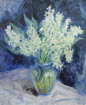 Alexey Vladimirovich Konstantinov. Violets
