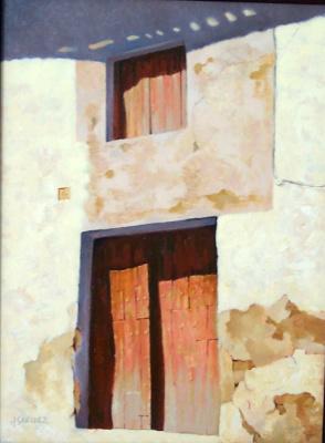 Хуан Санчес Родригес. Дверь