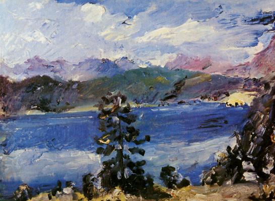 Lovis Corinto. Lake