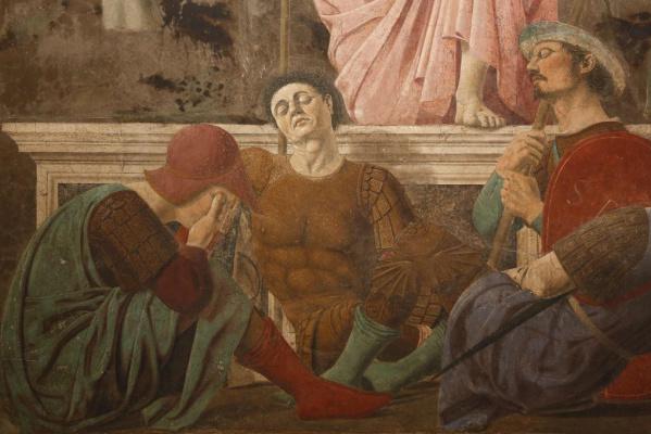 """Пьеро делла Франческа. """"Воскресение"""" (фрагмент 2)"""