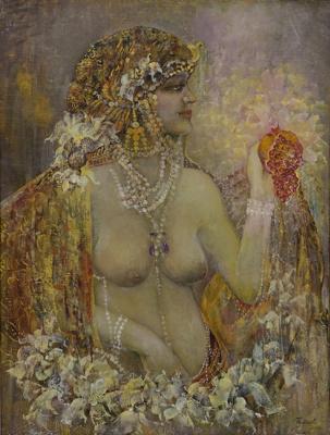 Виктория Алексеевна Тенета. Юная Клеопатра.  2000