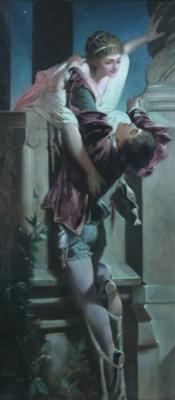 Wilhelm Kotarbinsky. Romeo and Juliet