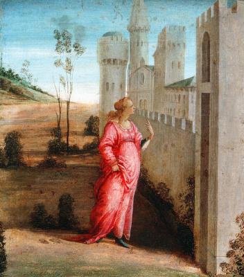Filippino Lippi. Esther