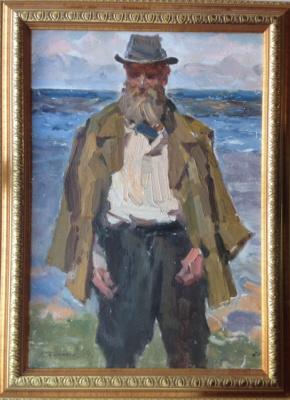 "Konstantin Petrovich Frolov. ""Fisherman.Pereslavl"""