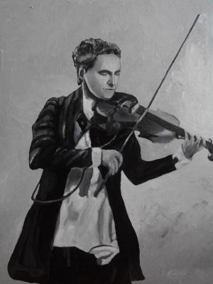 "Rene Rene Maksimenko. ""Violin"""