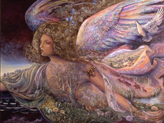 Josephine Wall. The guardian angel