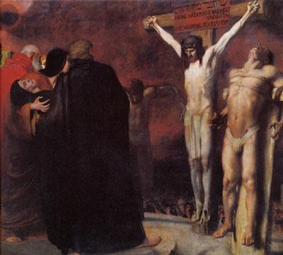 Franz von Stuck. The crucifixion