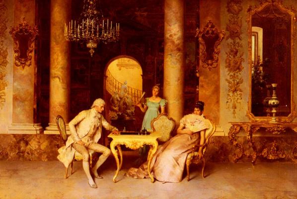 Франческо Беда. Шахматная партия
