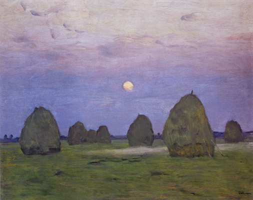 Isaac Levitan. Twilight. Stack