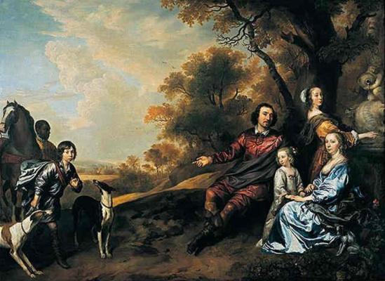 Ian Matins. Family portrait