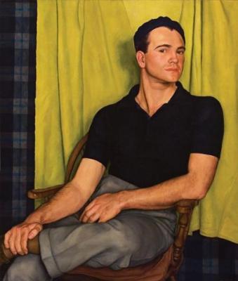 Luigi Lucioni. A Portrait Of Bob