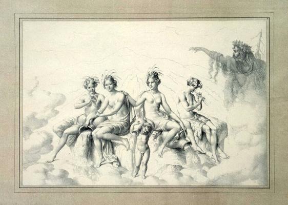 Речные нимфы и Рюбецаль