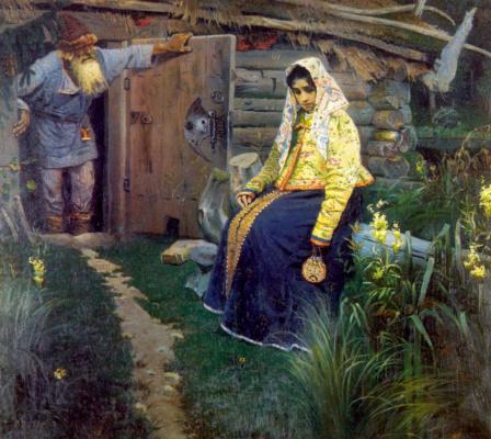 Михаил Васильевич Нестеров. За приворотным зельем