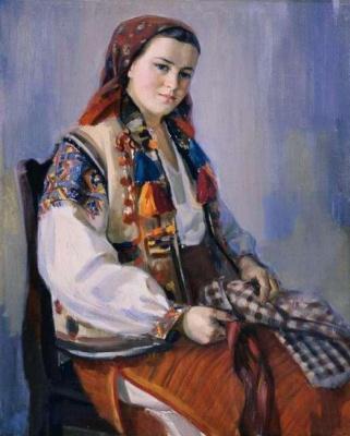Андрей Андреевич Коцка. Женский портрет
