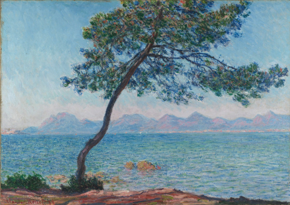 Claude Monet. The Esterel Mountains