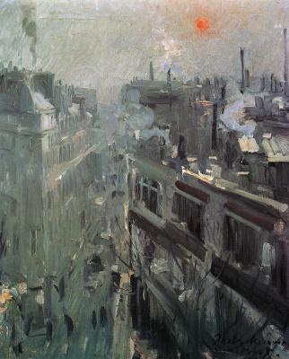 Konstantin Korovin. Paris. Morning