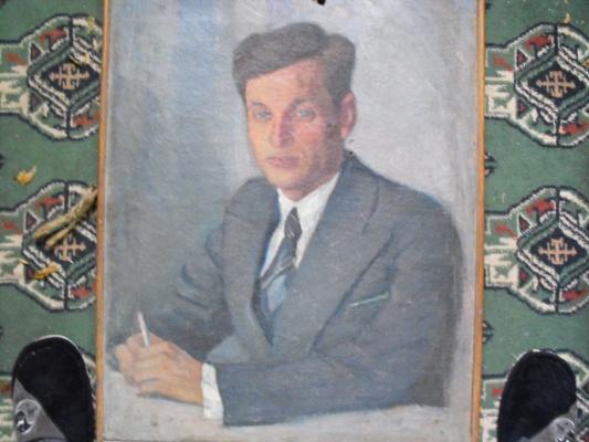 Nikolay Nikolayevich Arshinov. Portrait Satya (M. S. Kontush)