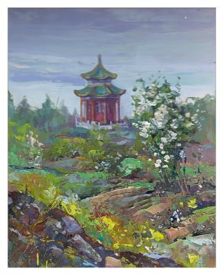 Константин Леонидович Антипов. Chinese landscape