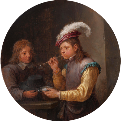 David Teniers the Younger. Bubble Boy