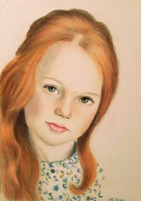 Inga Vladimirovna Burushkina. Girl