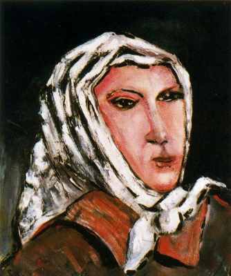 Жацинт Салвадо. Женщина в косынке