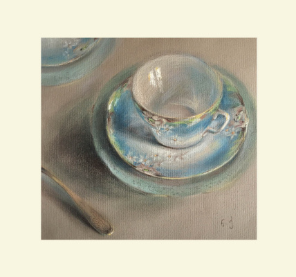 Natalia гивиевна Qaliashvili. Porcelain Cup