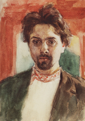 Vasily Ivanovich Surikov. Self-portrait