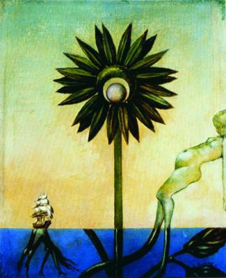 Dorothea Tunning. Green sun pirates