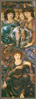 Edward Coley Burne-Jones. Days of Creation: Sixth Day